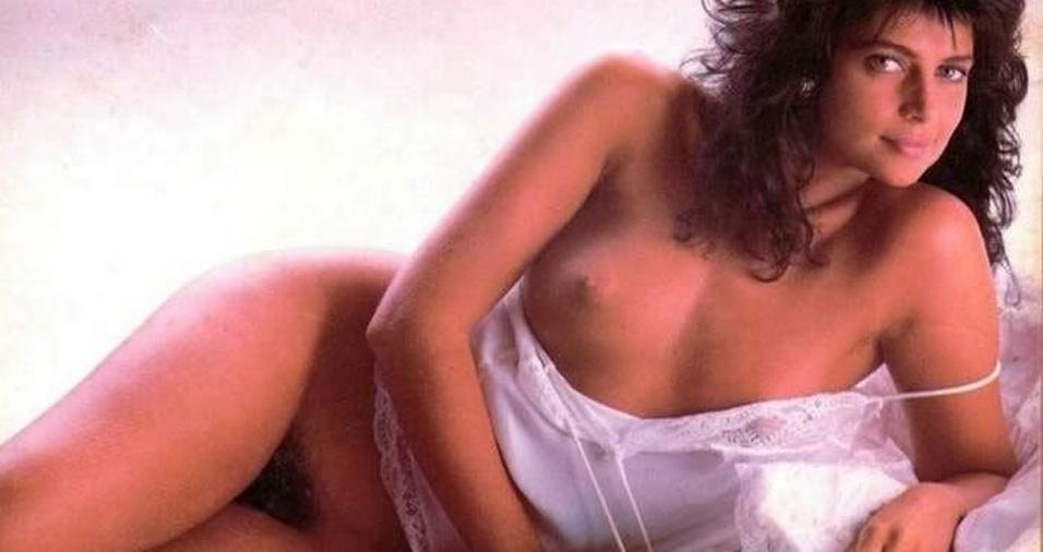 """22. Sonia Lima, no ensaio de 1987 para a """"Playboy"""", mostrou que também entende de conservação. Viva a natureza! Viva os pelos!"""