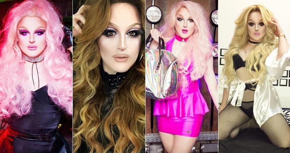 10. Tiffany Bradshaw - A drag e DJ realiza performances maravilhosas como Britney Spears e já possui mais de 47 mil pessoas acompanhando seu trabalho pelo Instagram