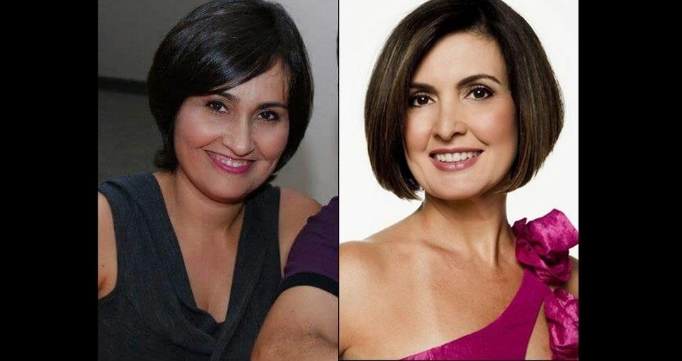 """Kelita Vieira, de Goiânia (GO), conta: """"Muitas pessoas na rua dizem que sou parecida com a apresentadora Fátima Bernardes"""""""