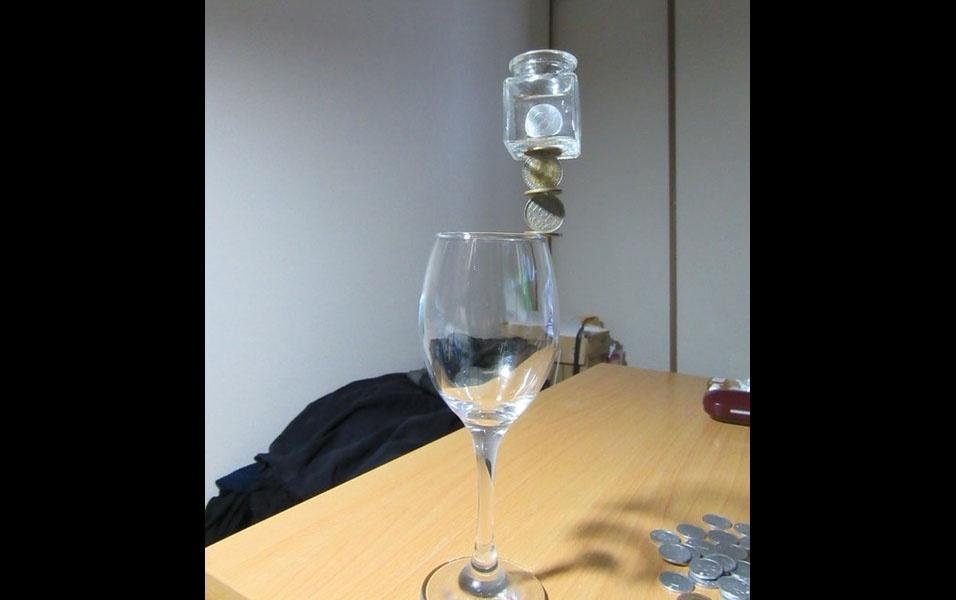8. Brincando com vidro