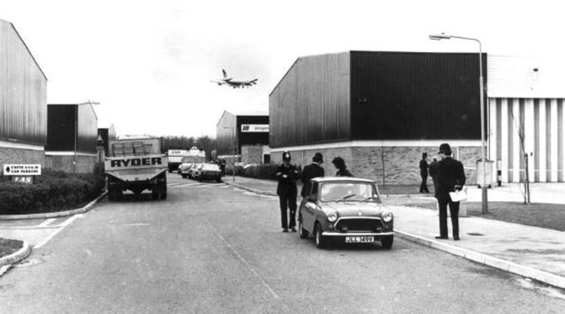 Valor roubado: US$ 37 milhões (pouco mais de R$ 115 milhões) -  Em 1983, a empresa de segurança Brink's-Mat, que ficava na região do aeroporto de Londres-Heathrow, foi roubada por seis homens armados que levaram três toneladas de lingotes de ouro