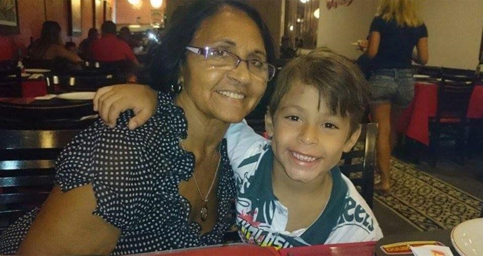 Maria Barbosa mamãe e vovó do Gael Luca, de Maceió (AL)