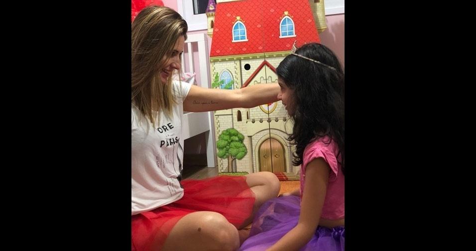 Ana Luísa Pimentel é a filha da Alessandra Pimentel, de Jaguaré (SP)