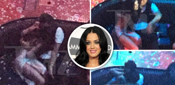 Orlando Bloom, namorado da Katy Perry, foi flagrado agarrado com Selena Gomez  - reprodução/TMZ//Montagem BOL