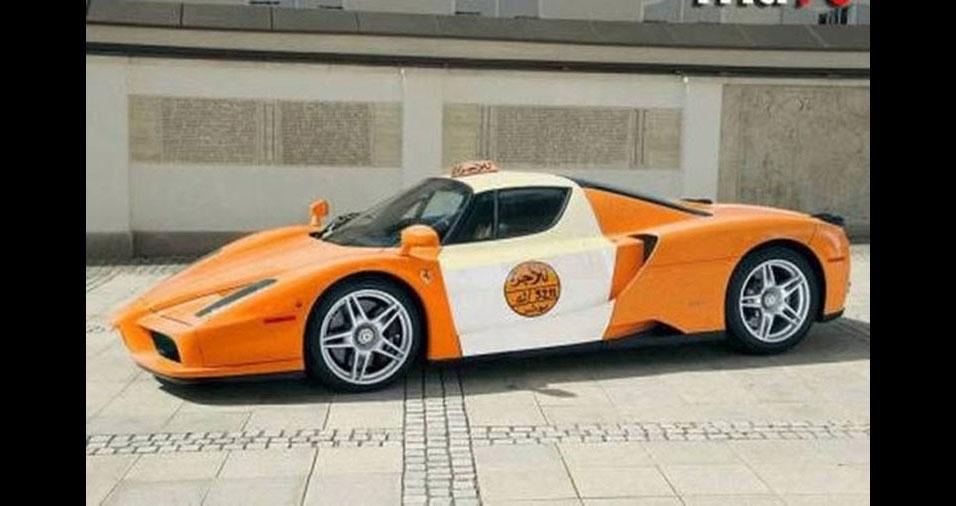 8. Táxi esportivo em Muscat, Oman