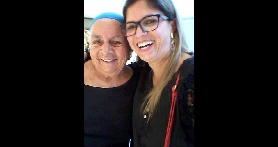 """Cleidiane homenageia a avó, que completará 81 anos neste ano: """"Minha joia"""""""