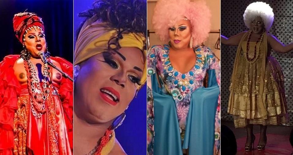 11. Valerie O'rarah - Ela vive da arte drag queen há 13 anos e inspira muitos outros artistas com suas apresentações que enaltecem as cores da Bahia e a força do candomblé