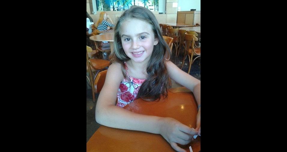 A mãe Camila Maria enviou foto da princesa Maria Eduarda, de Praia Grande (SP)