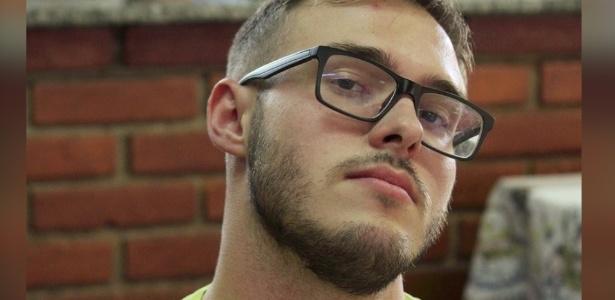 O estudante Lucas Antônio foi eletrocutado após encostar em poste durante bloco