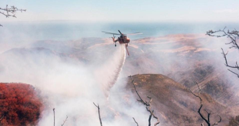 19. Ele faz questão de dizer que nem tudo é glorioso ou heróico, um bombeiro florestal também recolhe galhos, poda árvores e faz limpeza na área para garantir que não haja fogo