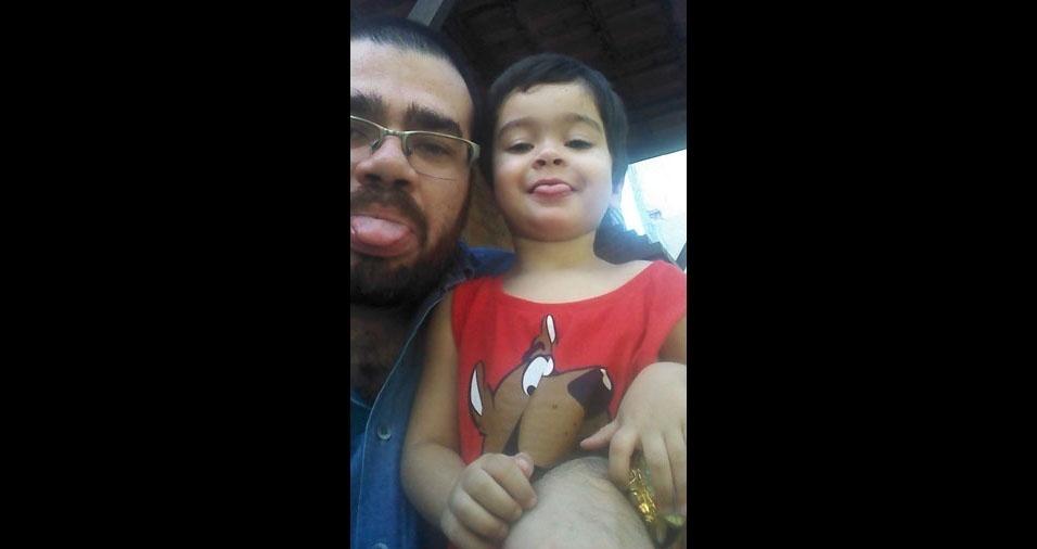Jorge e o filho Pedro