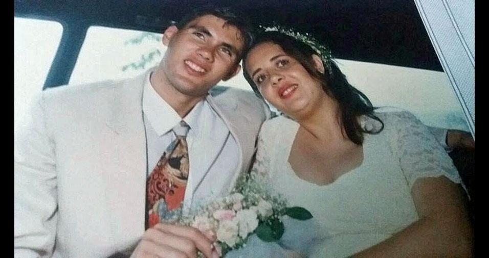Renato Batista e Selma Regina, de Brumadinho (MG), estão casados desde 6 de fevereiro de 1995