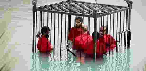 Reprodução/Islamic State/Wilayat Nineveh