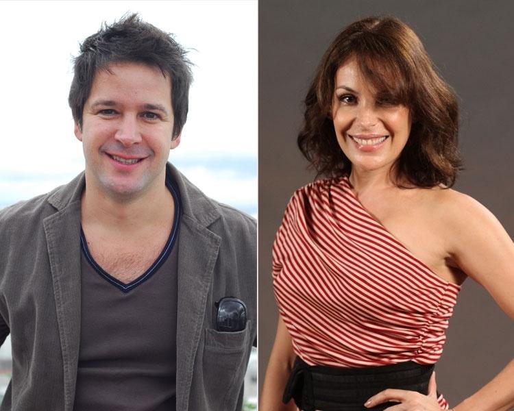 Murilo Benício e Carolina Ferraz