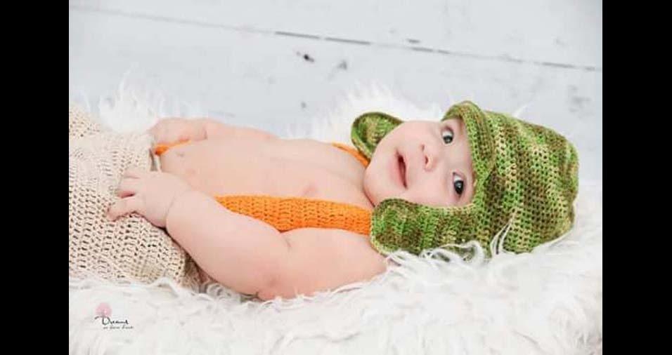 Douglas Vieira e Milena enviaram a foto do filho Arthur, de Votorantim (SP)