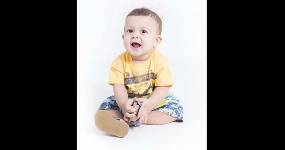 Matusalem, de Divinópolis (MG), enviou a foto do Samuel
