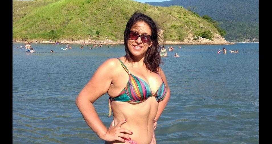 Elaine Lacerda, 46 anos, de Osasco (SP)