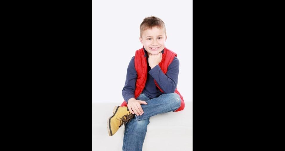 Bernardo é filho de Wesley Wosiack e de Cristina Gonçalves de Oliveira, de  Curitiba (PR)