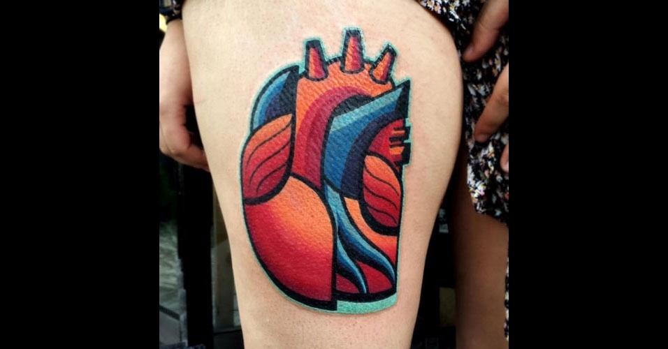 16. Coração