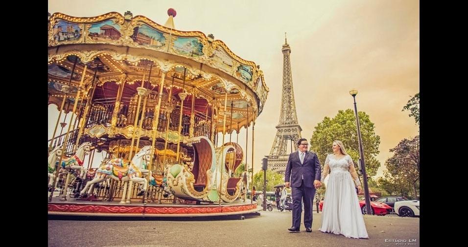 Os noivos Guilherme Picoli e Aline Lenz Picoli casaram-se no dia 17 de setembro de 2016, na cidade de São Luis Gonzaga (RS)