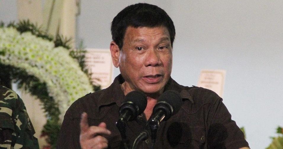 """16. Os barracos de 2016 não se limitaram às celebridades do meio artístico. Em setembro, o presidente das Filipinas, Rodrigo Duterte, ofendeu diretamente o presidente americano Barack Obama: """"É bom você não interferir, senão, filho da puta, vou te fazer pagar por isso"""""""