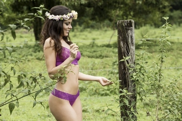 3.dez.2015 - Bárbara Gomes, candidata