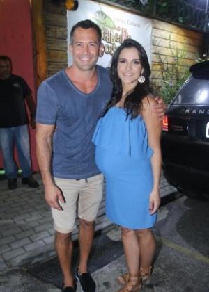 Malvino Salvador e Kyra Gracie - Daniel Pinheiro/AgNews