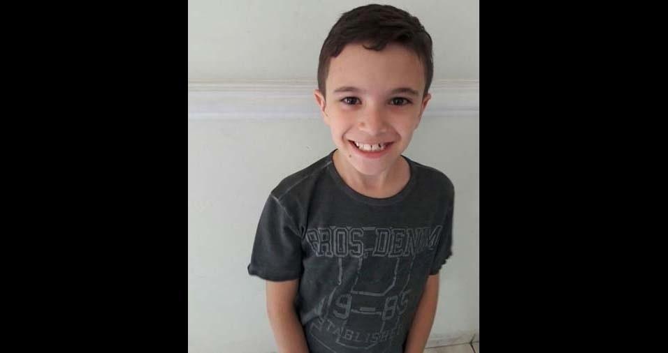 Rosângela, de São Caetano do Sul (SP), enviou foto do filho Arthur