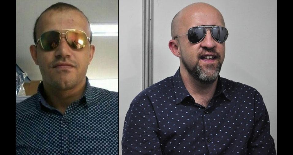 Rafael Oliveira Rósio, de São Paulo (SP), se acha parecido com o apresentador Fabrício Carpinejar