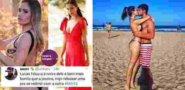 Reprodução/Instagram @conteiefofoquei e Reprodução/Instagram @analucia21