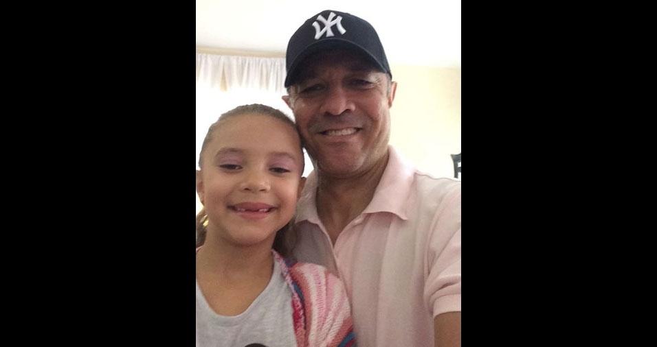 Gigi e o papai Cesar, de São Paulo (SP)