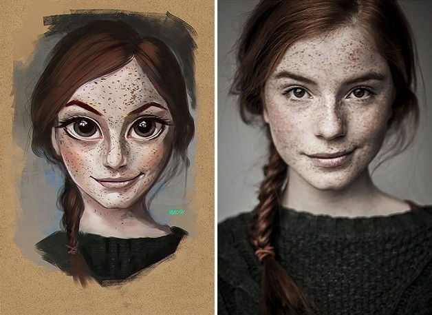 18.ago.2015 - Conhecido como MZ09, Júlio César criou personagens de ficção a partir de retratos de pessoas comuns. O que você achou do resultado?