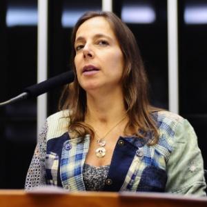 Mara Gabrilli interrompeu Dilma três vezes durante discurso - Reprodução/PSDB