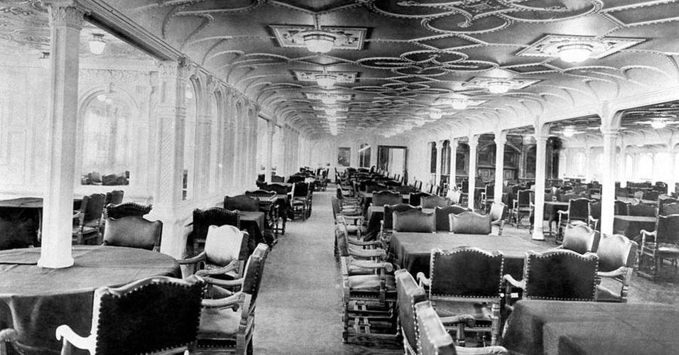 Imagem do interior do Titanic