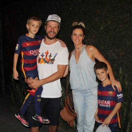 Fernanda Lima e Rodrigo Hilbert se mudam com os filhos para a California - AgNews
