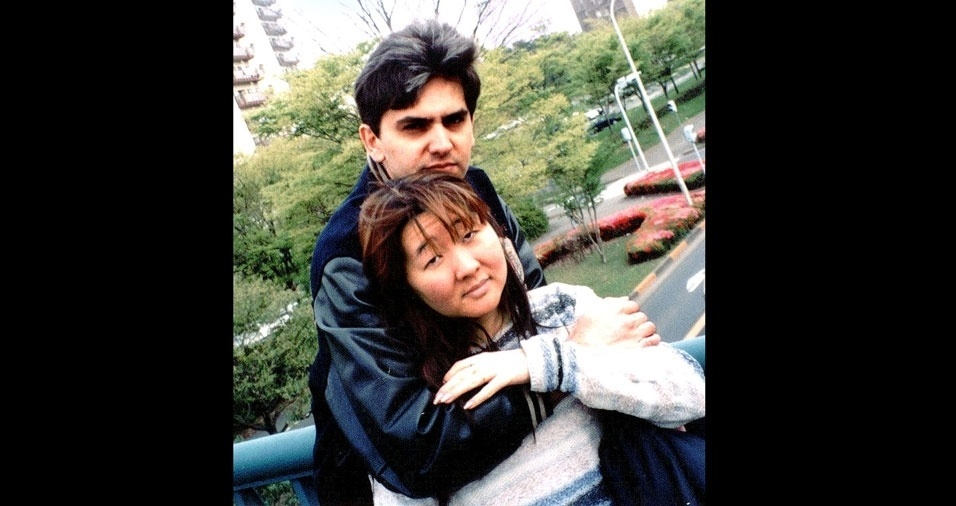 Marcia Miuki e André Luis estavam no Japão em 1996