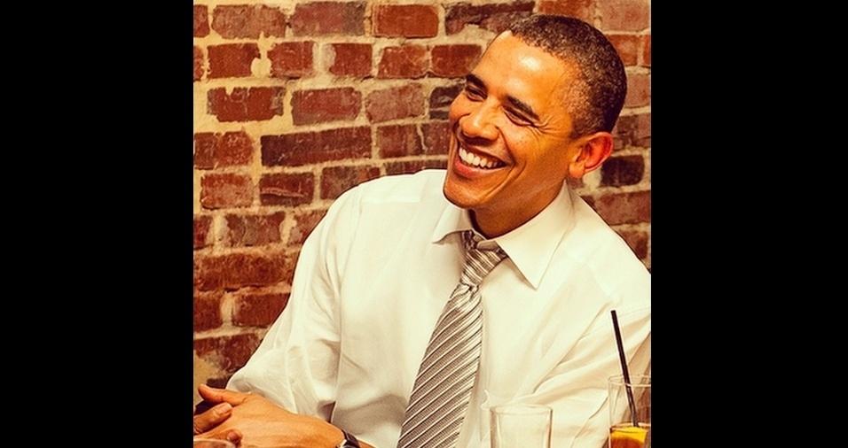 6. Barack Obama. Dá para entender como este sorriso conquistou Michelle