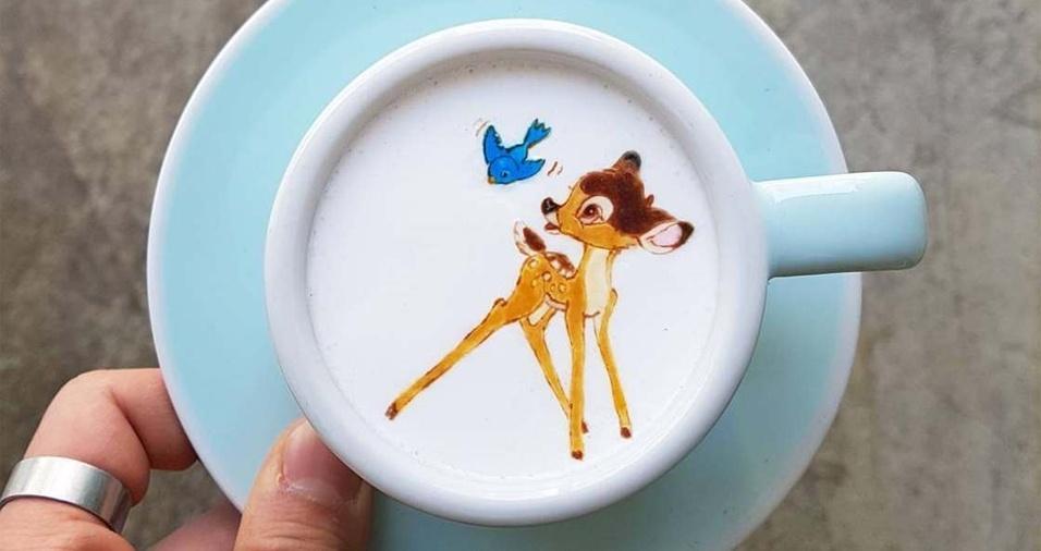 7. Você consegue se imaginar bebendo o Bambi?