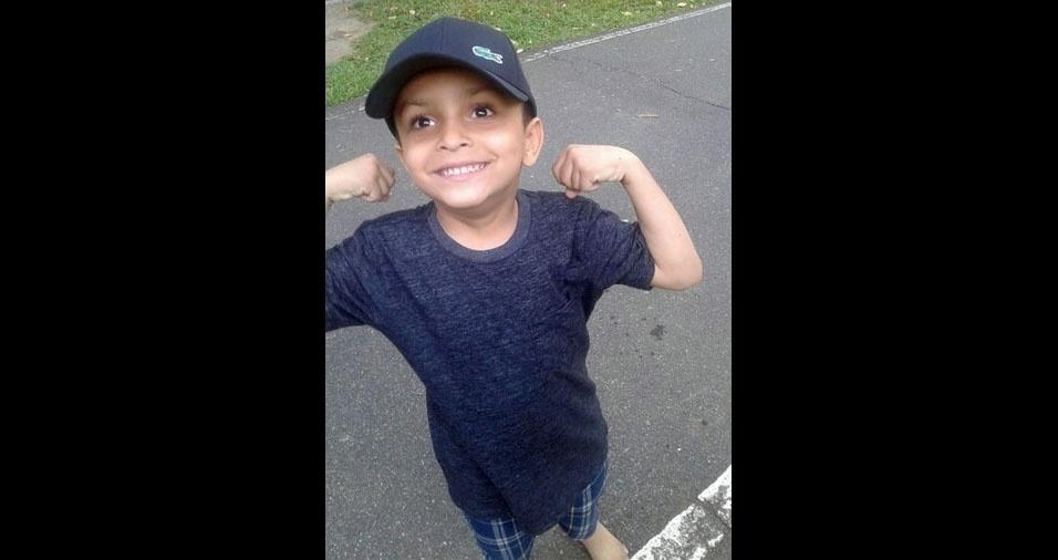 A mãe Isis Karla enviou foto do filho Joaquim, de Recife (PE)