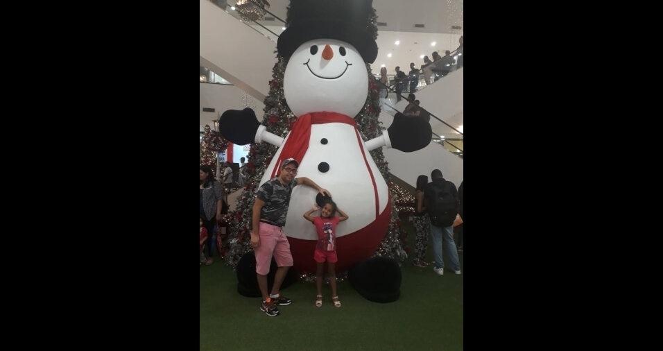 O Natal de Ermelino Matarazzo, de São Paulo, está mais animado com Fábio e a Sara