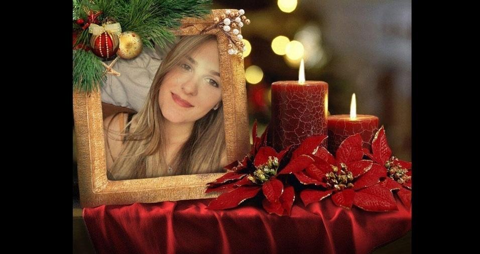 """Bárbara Monteiro deseja a todos um """"Feliz Natal"""""""