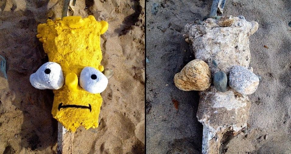 41. Bart na praia