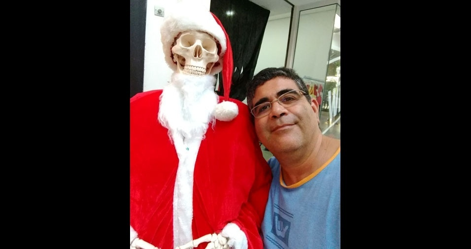 """Valter Santos Lima, de Pindamonhangaba (SP) - """"E o Papai Noel que acabou de aposentar"""""""