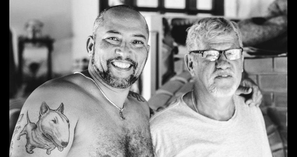 """Rodnei homenageia o sogro Gevanil: """"Meu segundo pai"""""""