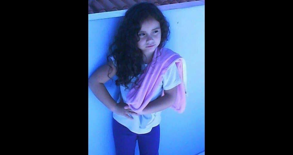 Ester Missão, de Cambui (MG), enviou foto da filha Geovanna