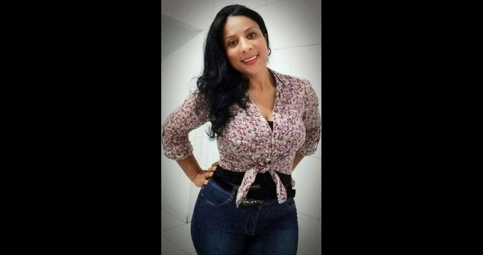 Amara Lúcia Silva, 38 anos, de Embu das Artes (SP)