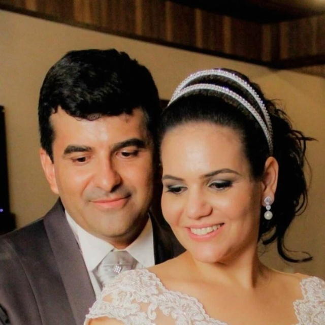 Luciana Marques e Paulo Nunes, de Araçatuba (SP), em 20 de dezembro de 2014