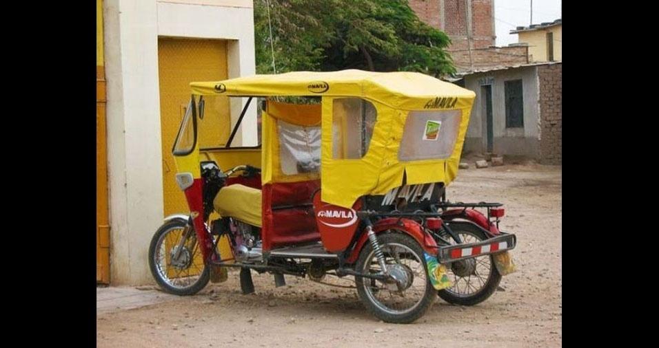 34. Em Jaen, no Perú, eles têm estilo