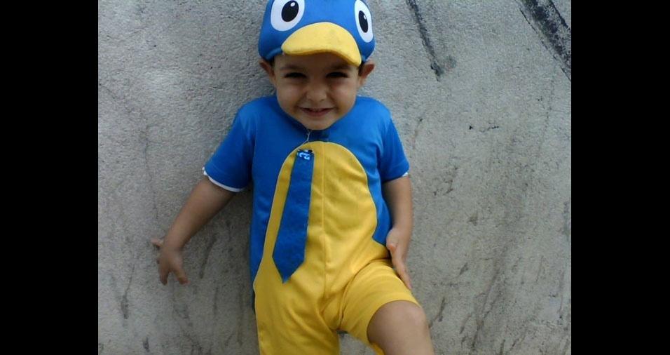 Tatiana mandou foto do filho Pedro Henrique, de São Paulo (SP)