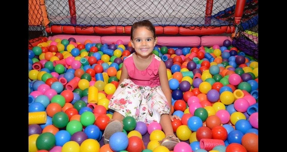 Sofia é a filha da Rosangela de Assis Pizi, de Londrina (PR)